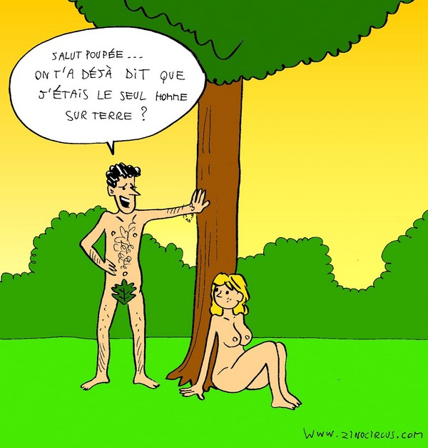 Quand Adam draguait Eve