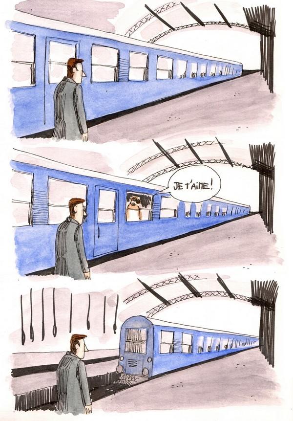 A la gare 2/3