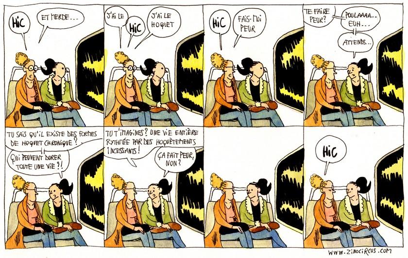 Normalement, une bande dessinée à  prétentions humoristiques devrait s'afficher à cet endroit.