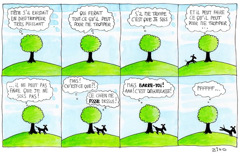 Les aventures de Steve, l'arbre doté d'une conscience réflexive #2